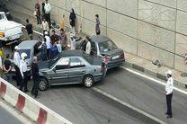 علت وقوع ۴۵ درصد از تصادفات در پایتخت