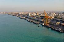 پهلوگیری کشتی با ظرفیت ۳۱ هزار تن برنج وارداتی در اسکله بندر بوشهر