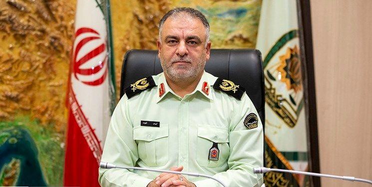 فرمانده انتظامی غرب استان تهران منصوب شد