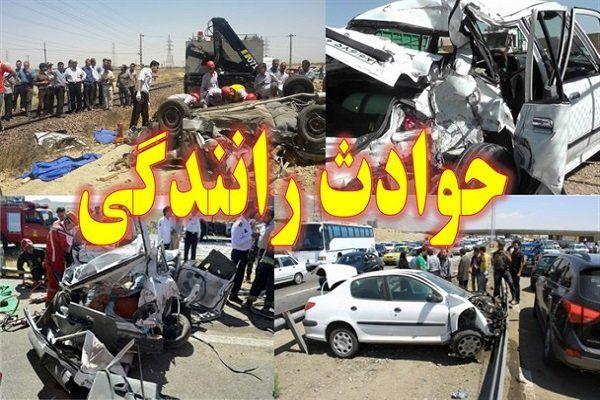 یک کشته در اثر برخورد پژو پارس با تیر چراغ برق در اصفهان