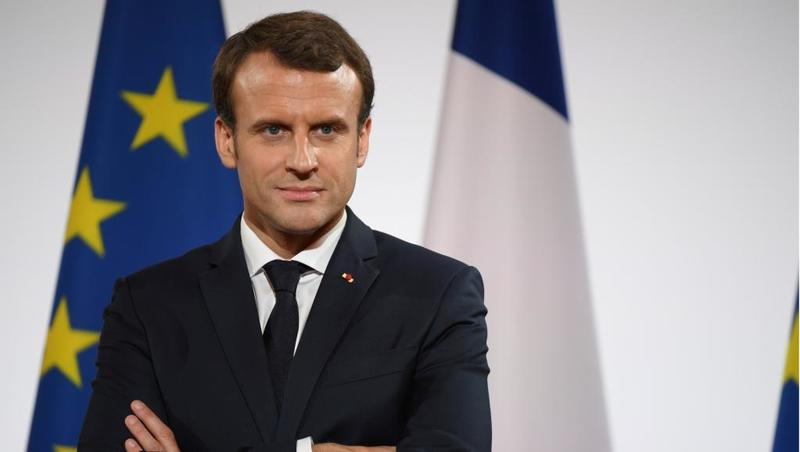 Macron hailed the US decision for leaving troops in Syria