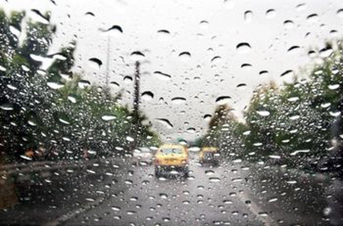 بارش باران برخی مناطق اردبیل را فرا می گیرد