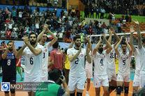 نتیجه بازی والیبال ایران و آرژانتین/ آرژانتین حریف ایران نشد