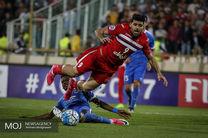 دیدار تیم های فوتبال پرسپولیس ایران و الریان قطر (1)