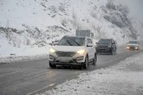برخی مسیرهای ایذه بر اثر بارش برف مسدود شد