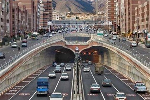 جلوگیری از ورود موتورسیکلتها به تونلهای شهر تهران