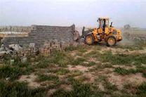 تخریب 71 مورد ساختوساز غیرمجاز در اراضی کشاورزی شهرستان کرمانشاه