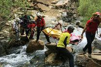 فرد مفقود شده در ارتفاعات لاکوه آمل نجات یافت
