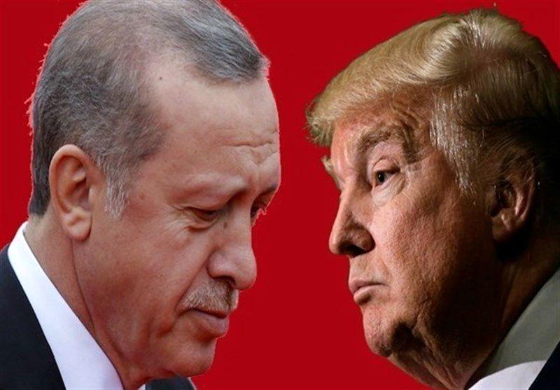 تیرگی روابط اردوغان و ترامپ در پی تحریمهای ایران