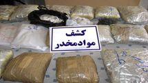 کشف بیش از ۱۲ تن مواد مخدر در کشور طی یک هفته
