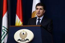 رئیس منطقه کردستان عراق به ترکیه سفر کرد