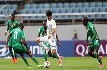 پیروزی یک نیمهای ایران مقابل قهرمان آفریقا