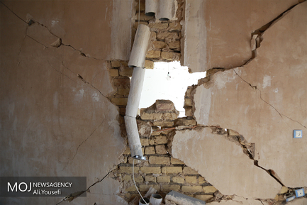 سرپل ذهاب پنج روز پس از زلزله
