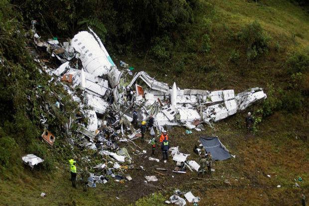سقوط یک فروند هواپیما در کلمبیا ۴ گشته بر جای گذاشت