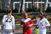 دومین شکست تیم ملی فوتبال بانوان مقابل بلاروس