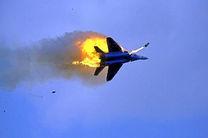 سرنگونی یک جنگنده ائتلاف سعودی در یمن