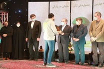 حضور فرماندار یزد در مراسم اختتامیه چهارمین دوره جشنواره ملی تئاتر خیابانی چتر زندگی