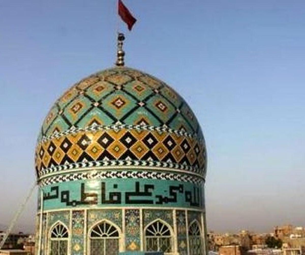مرمت آرامگاه شیخ حسن عالی کوهیج در بستک