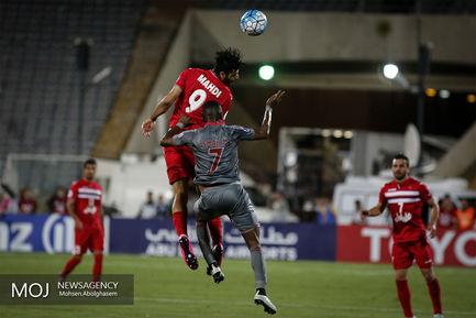دیدار تیم های فوتبال پرسپولیس ایران و لخویا قطر