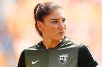 رکورد بیشترین تعداد بازی برای دروازه بان تیم فوتبال زنان آمریکا