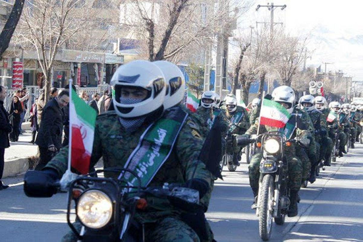 محدودیت های ترافیکی رژه موتوری و خودرویی 22 بهمن در اصفهان
