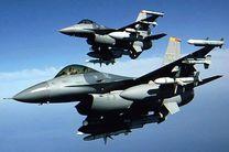 سقوط جنگنده اف ۱۶ آمریکا در پایگاه هوایی «نیو مکزیکو»