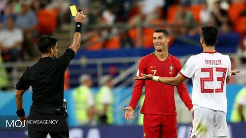دیدار تیمهای ایران و پرتغال