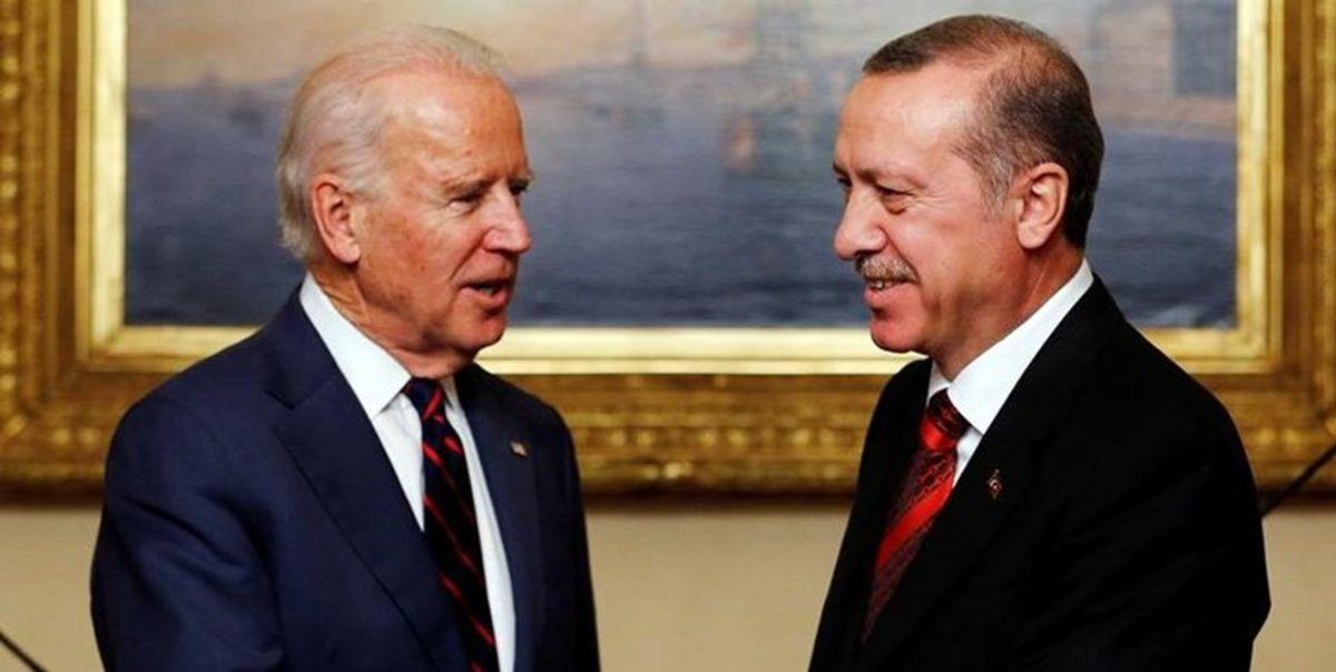 جو بایدن با اردوغان درباره ایران رایزنی میکند