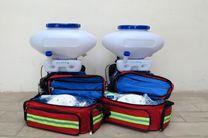 تجهیز پاسگاه های محیط بانی به اطفاء حریق در اردبیل
