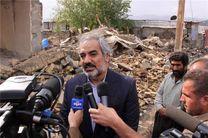 کردستان، معین بازسازى شهرستان ثلاث باباجانى است