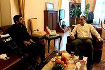 دبیر با عضو هیأت رئیسه فدراسیون کشتی در ترکیه دیدار و گفتگو کرد