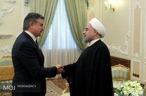 دیدار نخست وزیر ارمنستان با رییس جمهور