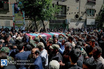 تشییع پیکر مطهر شهید مدافع حرم اصغر پاشاپور