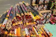 کشف بیش از 1000 عدد انواع مواد محترقه قاچاق در اصفهان