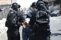 رژیم صهیونیستی 25 فلسطینی را در کرانه باختری بازداشت کرد