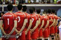 ساعت بازی والیبال ایران و فنلاند مشخص شد