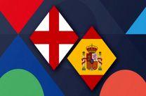 ساعت بازی اسپانیا و انگلیس مشخص شد