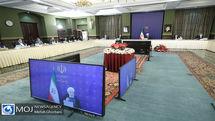 برگزاری جلسه ستاد ملی مبارزه با کرونا به ریاست رئیس جمهور