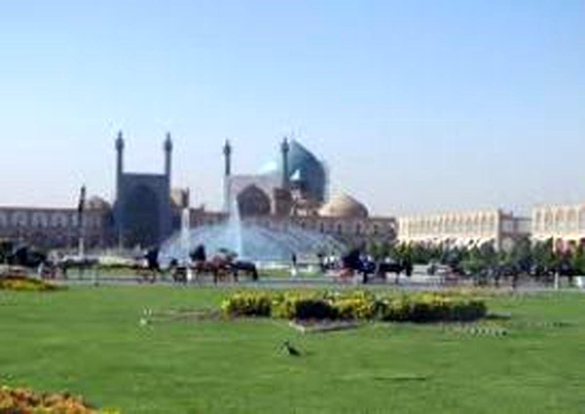 کیفیت هوای اصفهان امروز سالم است