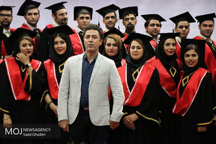 جشن فارغ التحصیلی دانشجویان پزشکی دانشگاه آزاد واحد قشم