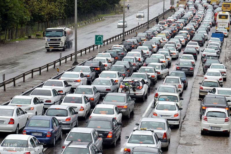 آخرین وضعیت جوی و ترافیکی جاده ها در ۱۲ تیر ۹۹