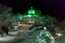 ۶۰ بقاع متبرکه و مسجد شهرستان رشت آماده میزبانی از مسافران در برف مانده