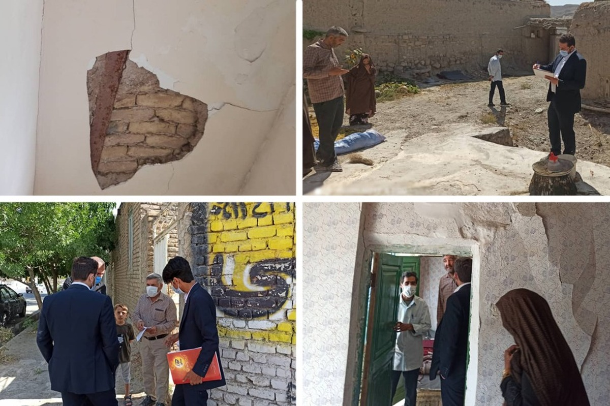 بیمه کوثر در حال رسیدگی به خسارت های زلزله قوچان