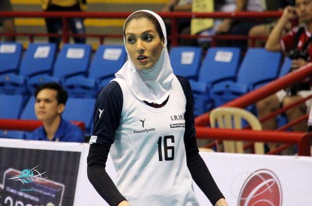 همسر کاوه رضایی در آستانه امضای قرارداد با تیم والیبال شارلوا