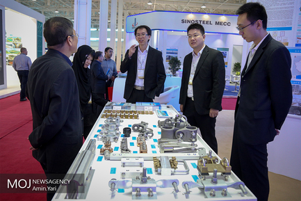 افتتاح نمایشگاه بین المللی معدن،صنایع معدنی و ماشین آلات