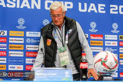 نشست خبری مارچلو لیپی سرمربی تیم ملی فوتبال چین/مارچلو لیپی