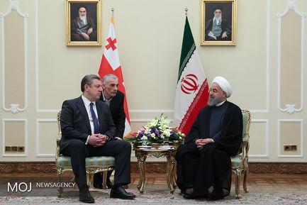 دیدار نخستوزیر گرجستان با رییس جمهور