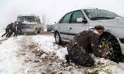 امدادرسانی به 167 خودروی گرفتار در برف