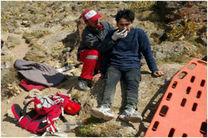 امدادرسانی به کوهنوردان دانمارکی در ارتفاع ۳ هزار متری دماوند
