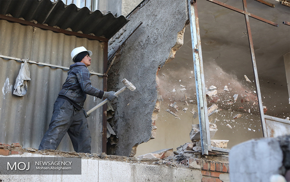 تخریب و نوسازی بافت فرسوده در منطقه ۱۷ تهران